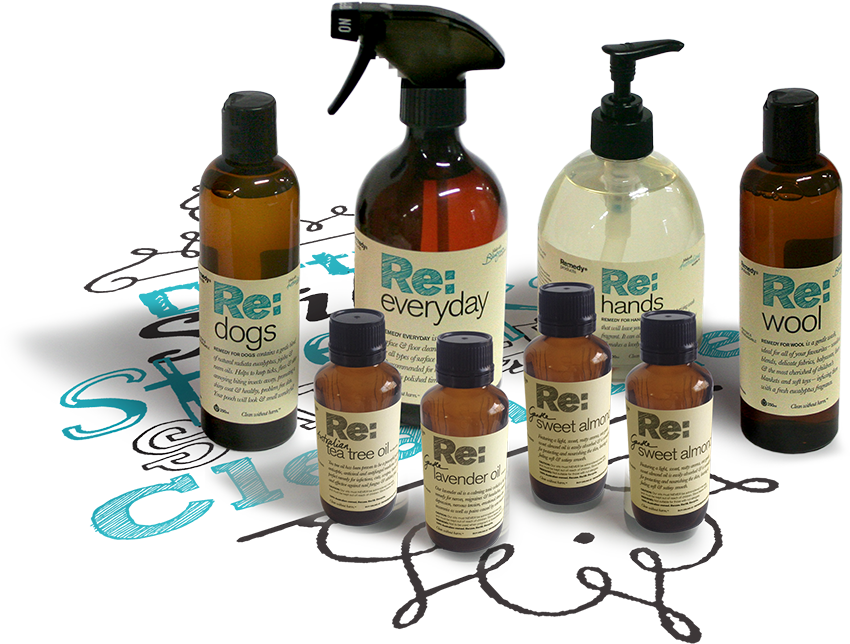 Collection of Remedy products